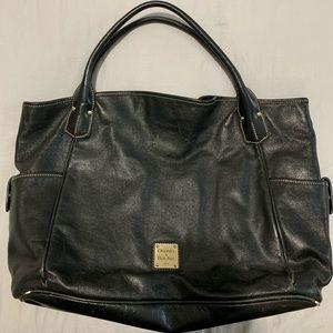 Dooney & Bourke Pebbled Leather Tote Bag